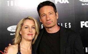 Gillian Anderson et David Duchovny réunis à l'avant-première de X-Files