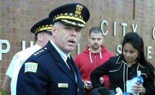 Le chef de la police de Chicago, Garry McCarthy  le 5 mai 2012 à Chicago
