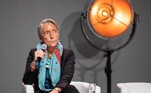 Elisabeth Borne à Montpellier, le 3 décembre 2019.