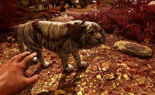 Le tigre blanc de Shangri-La dans Far Cry 4.