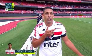Le footballeur Diego Souza