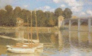 Le Pont d'Argenteuil, un tableau de Claude Monet