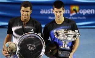 Les deux finalistes du dernier Open d'Australie, le Serbe Novak Djokovic, et le nouveau phénomène du tennis français, Jo-Wilfried Tsonga, seront les attractions de la seizième édition de l'Open 13 qui débute lundi à Marseille.