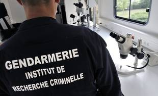 Un gendarme de l'Institut de recherche criminelle de la gendarmerie. (Illustration)
