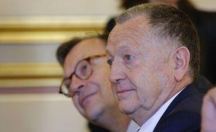 Jean-Michel Aulas le 12 mars 2015.