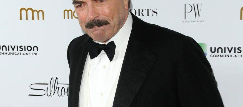 L'acteur Tom Selleck