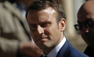 Emmanuel Macron le 14 février 2017.