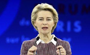 La présidente de la Commission européenne Ursula von der Leyen.