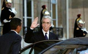 Yves Guéna, le 3 janvier 2003, alors président du Conseil constitutionnel
