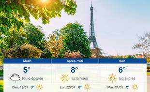 Météo Paris: Prévisions du samedi 18 janvier 2020