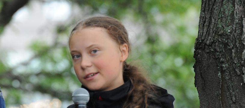 L'activiste pour le climat Greta Thunberg