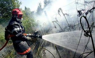 Des pompiers du sud de l'Angleterre, confrontée à une forte sécheresse, sont venus partager le savoir-faire des pompiers du très boisé département des Landes, rompus aux techniques de lutte contre les feux de forêt, a-t-on appris jeudi auprès d'un responsable des pompiers landais