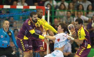 Maqueda, Feliho et Gharbi ont défendu fort contre Montpellier