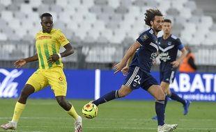 La Bordelais Paul Baysse a enfin rejoué contre Nantes après 531 jours sans match officiel.