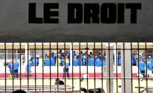 La prison de Makala en RDC en 2012.