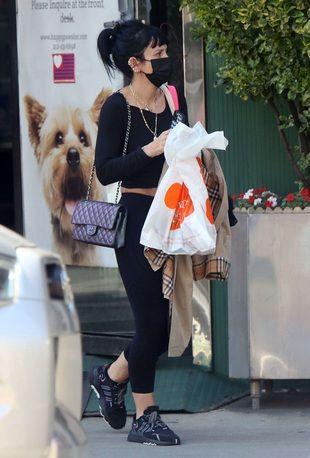 Lily Allen en balade à New York, vendredi 21 mai.