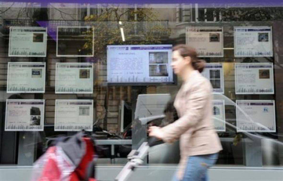 La distribution de crédits immobiliers a fortement reculé en France en 2008, de 17,3% par rapport à 2007, selon une étude de Crédit Logement publiée mardi. – Lionel Bonaventure AFP/Archives