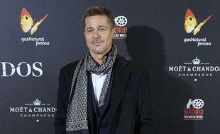 Brad Pitt à l'avant-première du film «Alliés», en novembre 2016.