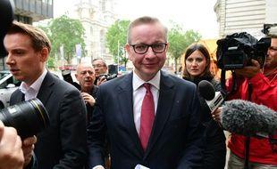 Le ministre britannique de l'Environnement Michael Gove, le 1er juillet 2016 à Londres
