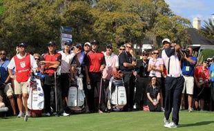 L'Américain Tiger Woods, contraint à l'abandon à l'Open de Dora, en Floride, en raison d'une douleur au tendon d'Achille gauche, il y a huit jours, a déjà rejoué lundi en compagnie de l'Anglais Justin Rose.