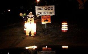 Un clown mystérieux aperçu dans New-York en mars 2014