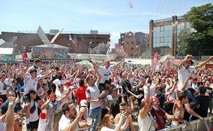 Coupe du monde 2018: supporters anglais
