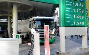 Les prix de l'essence au plus haut en France