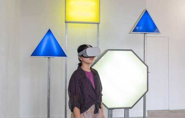 L'exposition Doublage permet, en réalité virtuelle, d'être plongé dans des rues du monde entierA