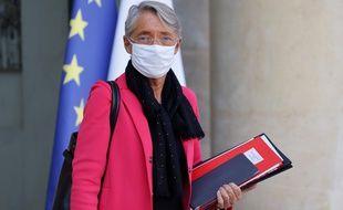Elisabeth Borne, le 14 octobre 2020 à l'Elysée à Paris.