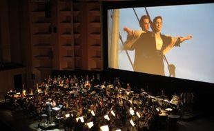 L'auditorium de Lyon programme pour quatre soirs, le ciné-concert Titanic