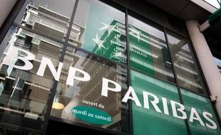 Logo BNP Paribas, illustration