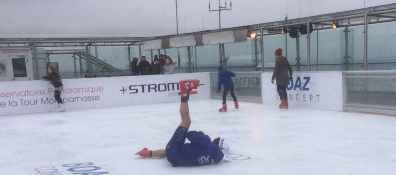Epreuve bonus des Jeux d'hiver de Paris 2018: le patinage artistique. Pas la discipline dans laquelle les journalistes de «20 Minutes» sont les plus gracieux.