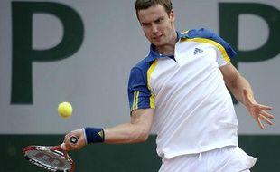Le Letton Ernests Gulbis, le 27 mai 2013, à Roland-Garros.