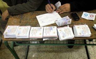 Référendum en Egypte sur la nouvelle Constitution, le 15 janvier 2014.