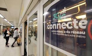 Le métro de Rennes est connecté aux réseaux 3G et 4G depuis le 1er octobre 2018.