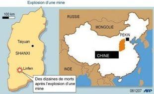 L'explosion survenue jeudi matin dans une mine du nord de la Chine, au coeur de la principale province houillère du pays, a fait 105 morts, selon un nouveau bilan officiel publié vendredi.