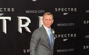 L'acteur Daniel Craig à l'avant-première de Spectre au Mexique