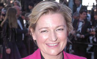 La présentatrice Anne-Elisabeth Lemoine.