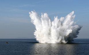 L'opération de déminage aura lieu mercredi dans la baie de Camaret.