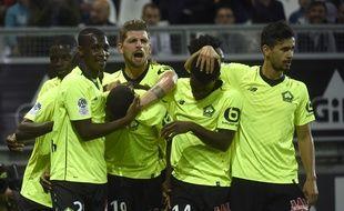 Les Lillois brillent en ce début de saison de Ligue 1(Photo by FRANCOIS LO PRESTI / AFP)