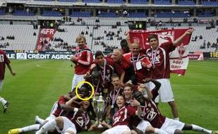 Bouna Sarr a remporté la Coupe Gambardella avec les U19 du FC Metz en 2010.
