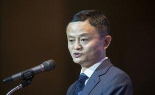 Jack Ma, le patron d'Alibaba