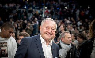 Jean-Michel Aulas s'est rendu à Bercy le 24 janvier pour assister à la rencontre de NBA entre Charlotte et Milwaukee.