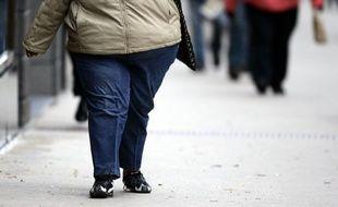 Une jeune femme obèse.