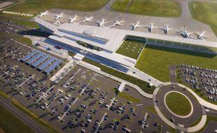 L'extension de l'aéroport de Lille-Lesquin est contestée.