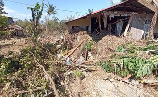 Le typhon Phanfone, qui a touché les Philippines le 25 décembre, a fait au moins 41 morts.