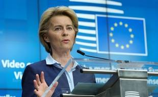 Ursula Von Der Leyen, présidente de la Commission euroépenne