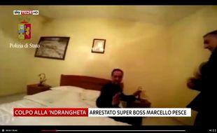 Un mafieux capturé à son domicile possédait des livre de Sartre et de Proust