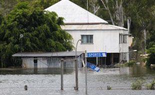 Une maison submergée dans le sud de Rockhampton, en Australie, le 3 janvier 2011.