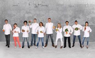 Alexis, Noemie, Ruben, Quentin, Latifa, Etienne , Tiffany, Pierre, Julien et Yoake: les anciens candidats du concours culinaire qui participeront à la saison 5 de «Top Chef».